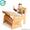 Парта-растишка  с пеналом (артикул С-890) #1078362