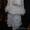 Белоснежный комплект (пальто-кардиган,  брюки-бриджи) #1598339