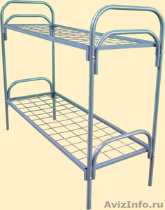 Кровати с деревянными спинками для больницы, кровати для строителей оптом - Изображение #1, Объявление #657358