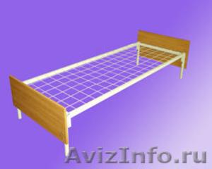 Кровати с деревянными спинками для больницы, кровати для строителей оптом - Изображение #3, Объявление #657358