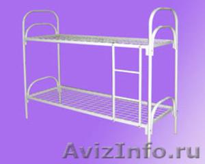 Кровати с деревянными спинками для больницы, кровати для строителей оптом - Изображение #4, Объявление #657358