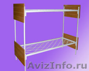 Кровати с деревянными спинками для больницы, кровати для строителей оптом - Изображение #5, Объявление #657358