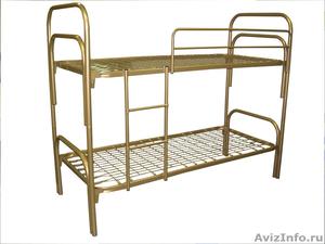 кровати одноярусные, кровати двухъярусные металлические для пансионатов, турбаз - Изображение #3, Объявление #695639