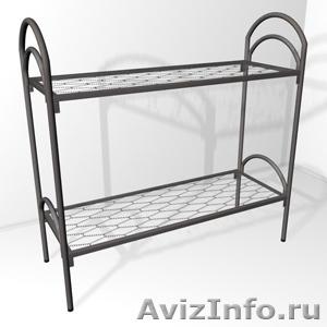 кровати одноярусные, кровати двухъярусные металлические для пансионатов, турбаз - Изображение #4, Объявление #695639