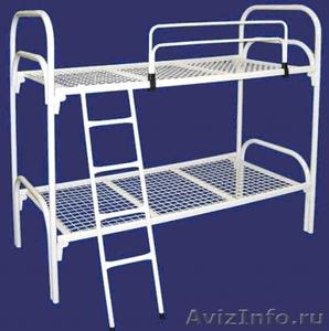 Железные армейские кровати, одноярусные металлические для больниц, бытовок, опт. - Изображение #1, Объявление #1480295