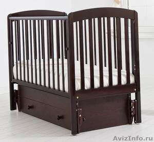 Детская кроватка с поперечным маятниковым механизмом - Изображение #1, Объявление #1500831