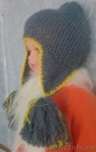 Шапочка с длинными ушками для девочки - Изображение #2, Объявление #1598344