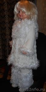Белоснежный комплект (пальто-кардиган, брюки-бриджи) - Изображение #1, Объявление #1598339