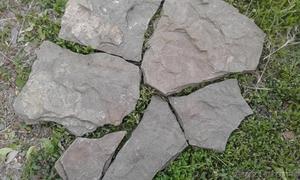 Песчаник Серо-зеленый Дракон природный камень натуральный рваный - Изображение #1, Объявление #1602483
