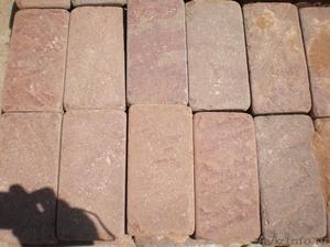 Натуральный камень Красный песчаник пиленый + галтованный (плитка) - Изображение #1, Объявление #1602489