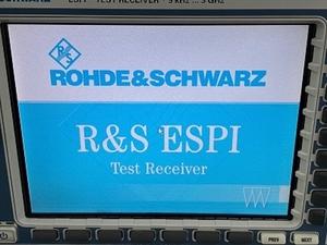 Тестовый приемник Rohde Schwarz ESPI - Изображение #2, Объявление #1710115