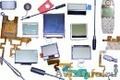 Запчасти и аксессуары для сотовых телефонов и ноутбуков. Сплит-системы.