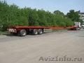 Полуприцеп для длиномерных (до 33 метров) грузов
