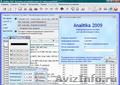 Analitika 2009 - Бесплатная комплексная программа для ведения учета в торговле