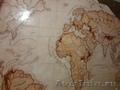 карта мира на стене и многое другое