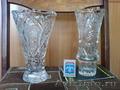 Хрустальные вазы для цветов
