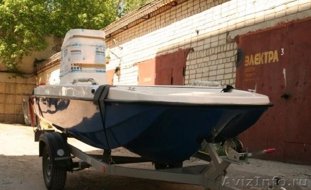 моторная лодка кайман тримаран