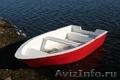 Стеклопластиковая лодка-картоп Ёрш