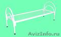 Железные армейские кровати, одноярусные металлические для больниц, бытовок, опт. - Изображение #4, Объявление #1480295